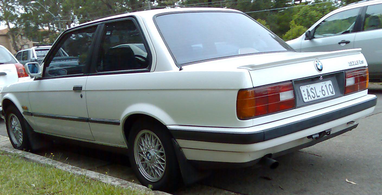 File19901991 BMW 318is E30 2door sedan 01jpg  Wikimedia Commons