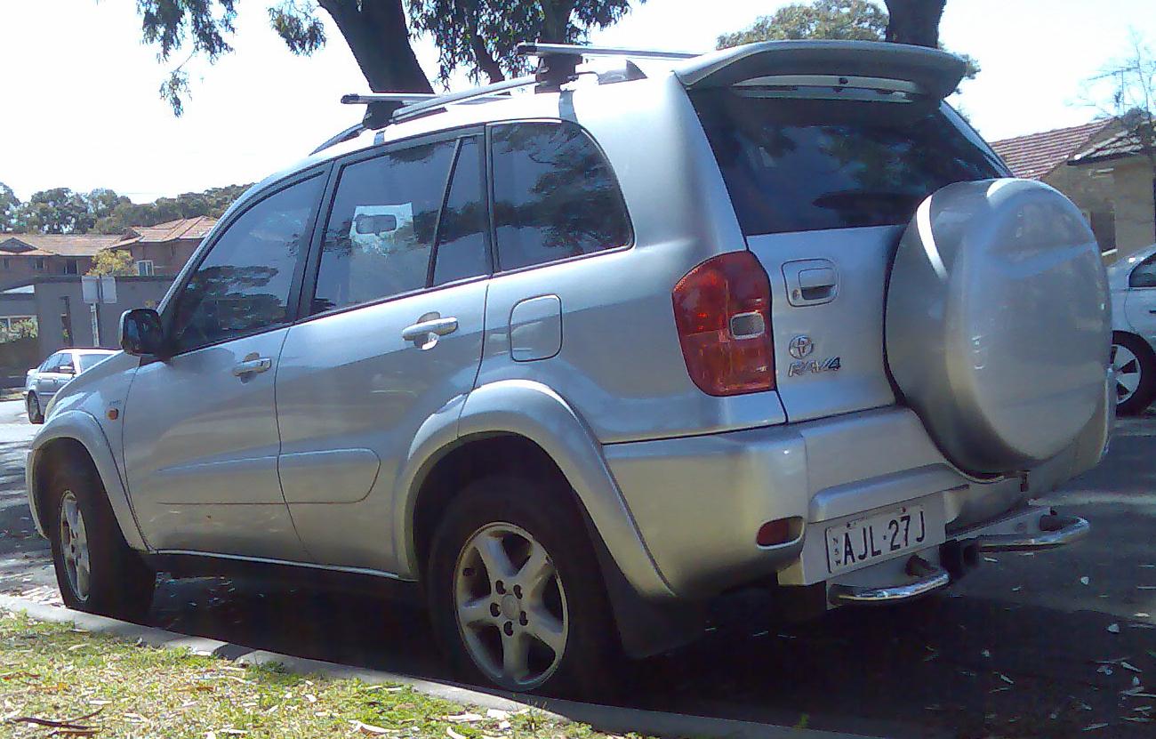 File 2000 2003 Toyota Rav4 Aca21r Cruiser 01 Jpg