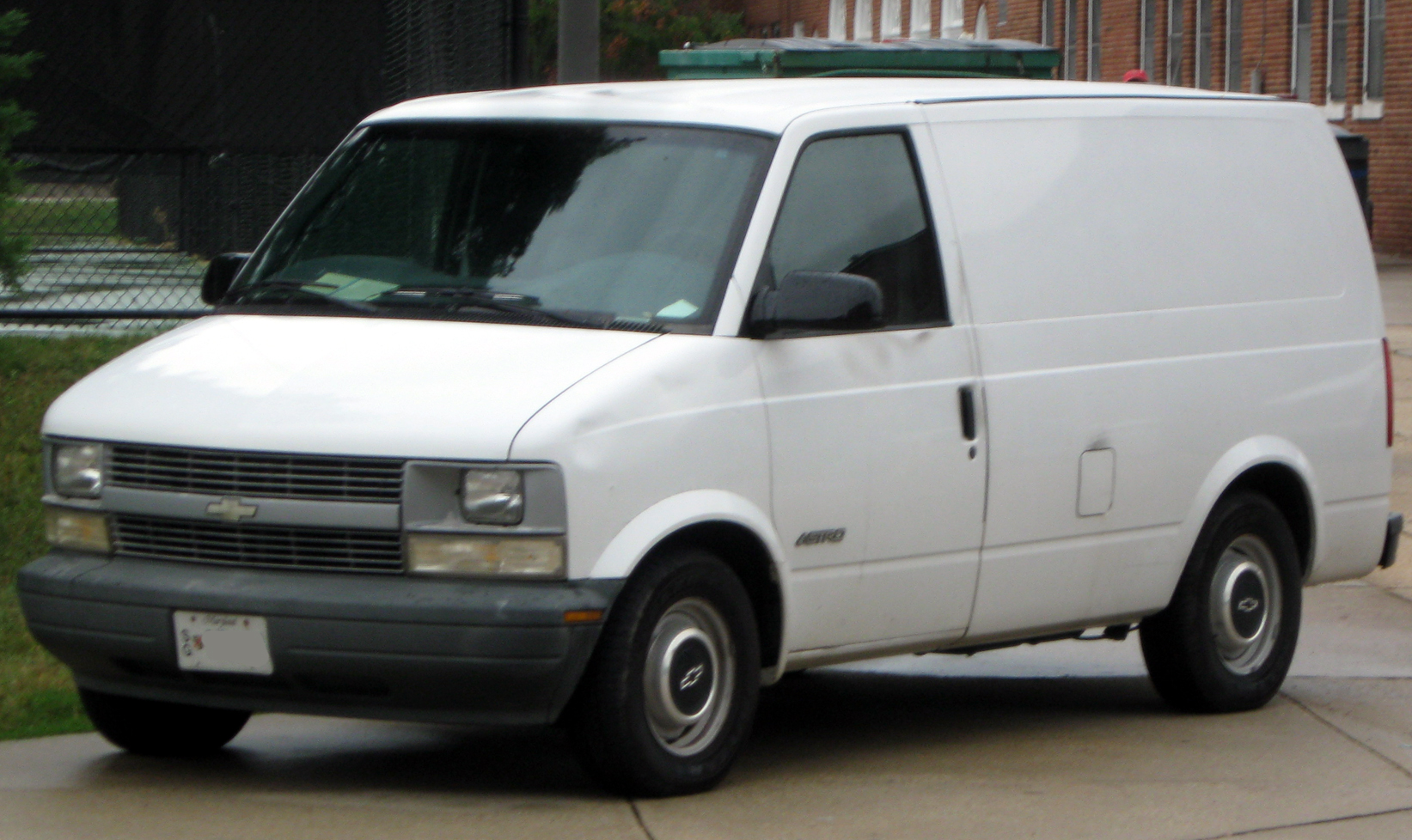 File 2nd Chevrolet Astro 09 27 2010 Jpg Wikimedia Commons