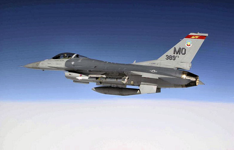 389th Fighter Squadron General Dynamics F-16C Block 52D Fighting Falcon 91-0386