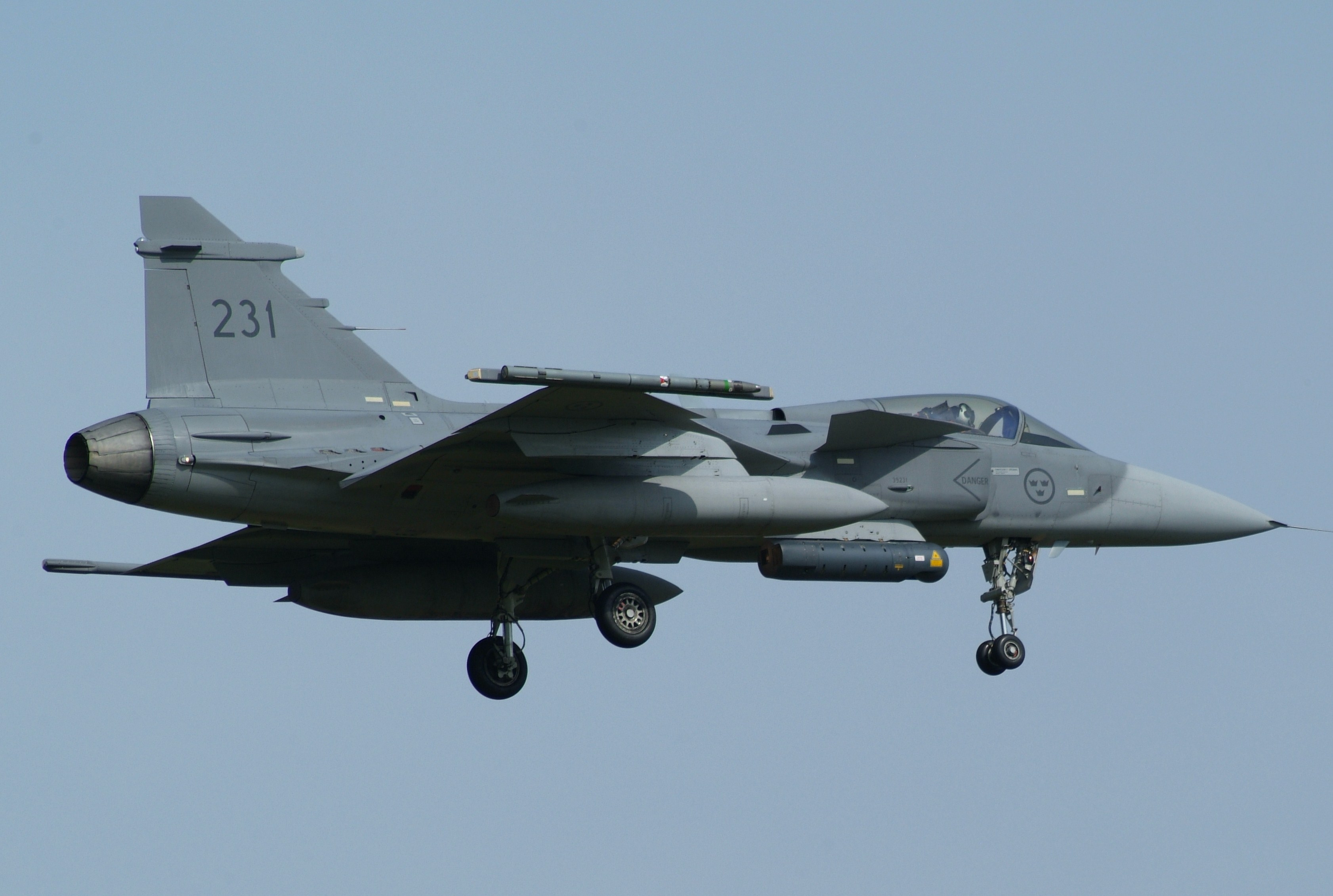 File 39231 Saab J 39c Gripen Of F21 Of The Swedish Air Force 4543631006 Jpg Wikimedia Commons