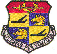 Emblem Of The 580th Air Resupply And Communications Wing