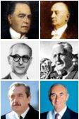 Presidentes radicales: Yrigoyen, Alvear, Frondizi, Illia, Alfonsín, de la Rúa