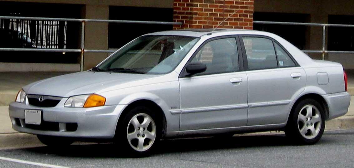 Mazda Protege 2000. File:99-00 Mazda Protege ES.
