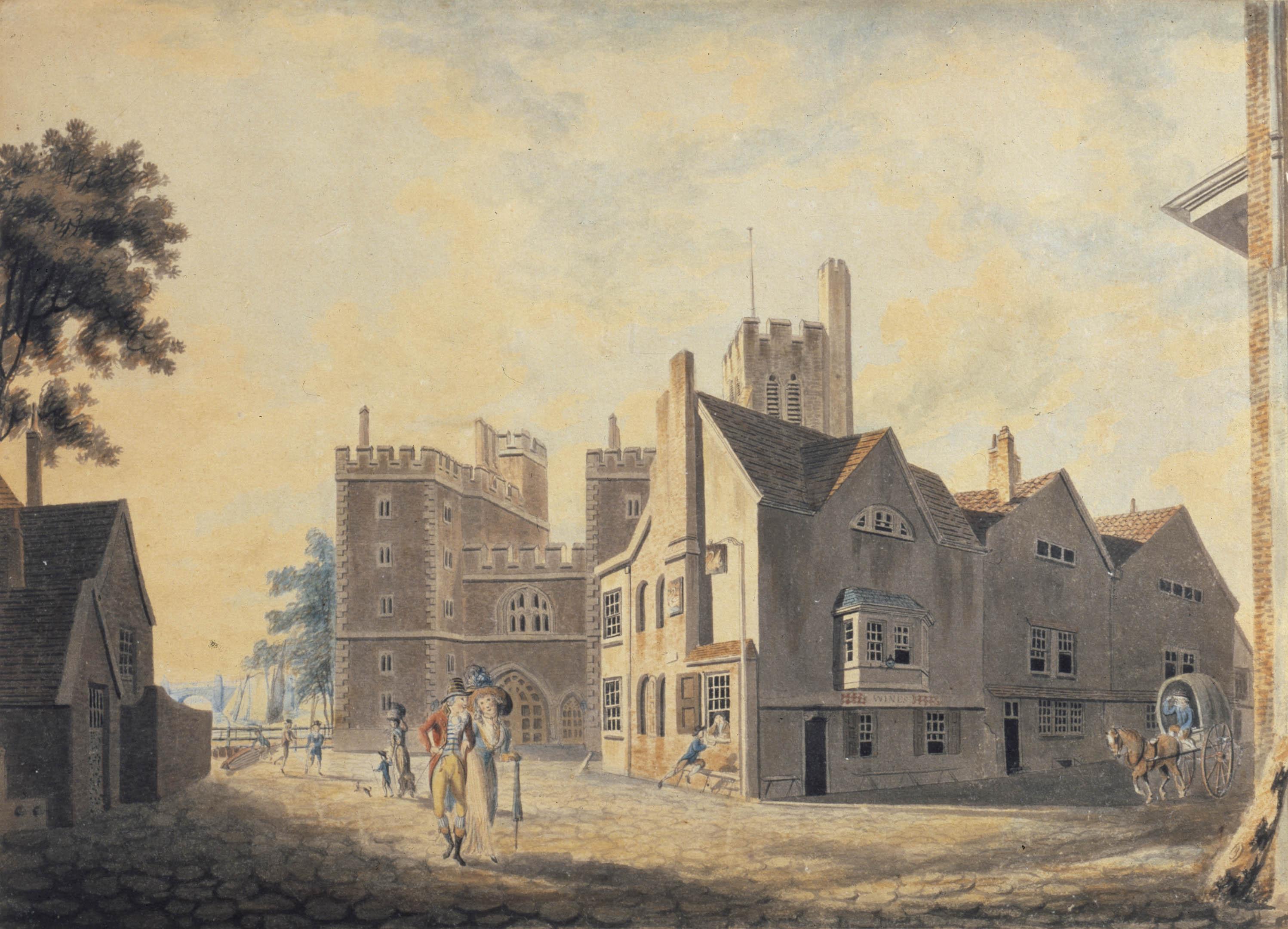 J  M  W  Turner: British Romantic landscape painter, water
