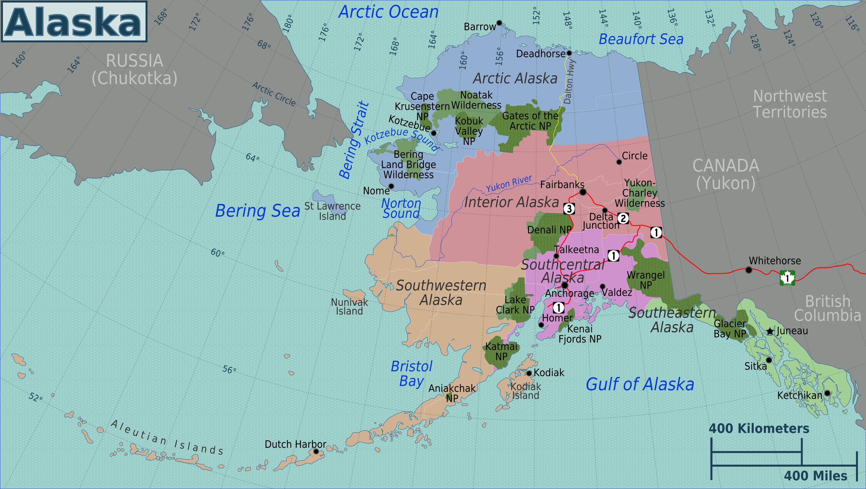 Filealaska regions mapg wikimedia commons filealaska regions mapg gumiabroncs Images