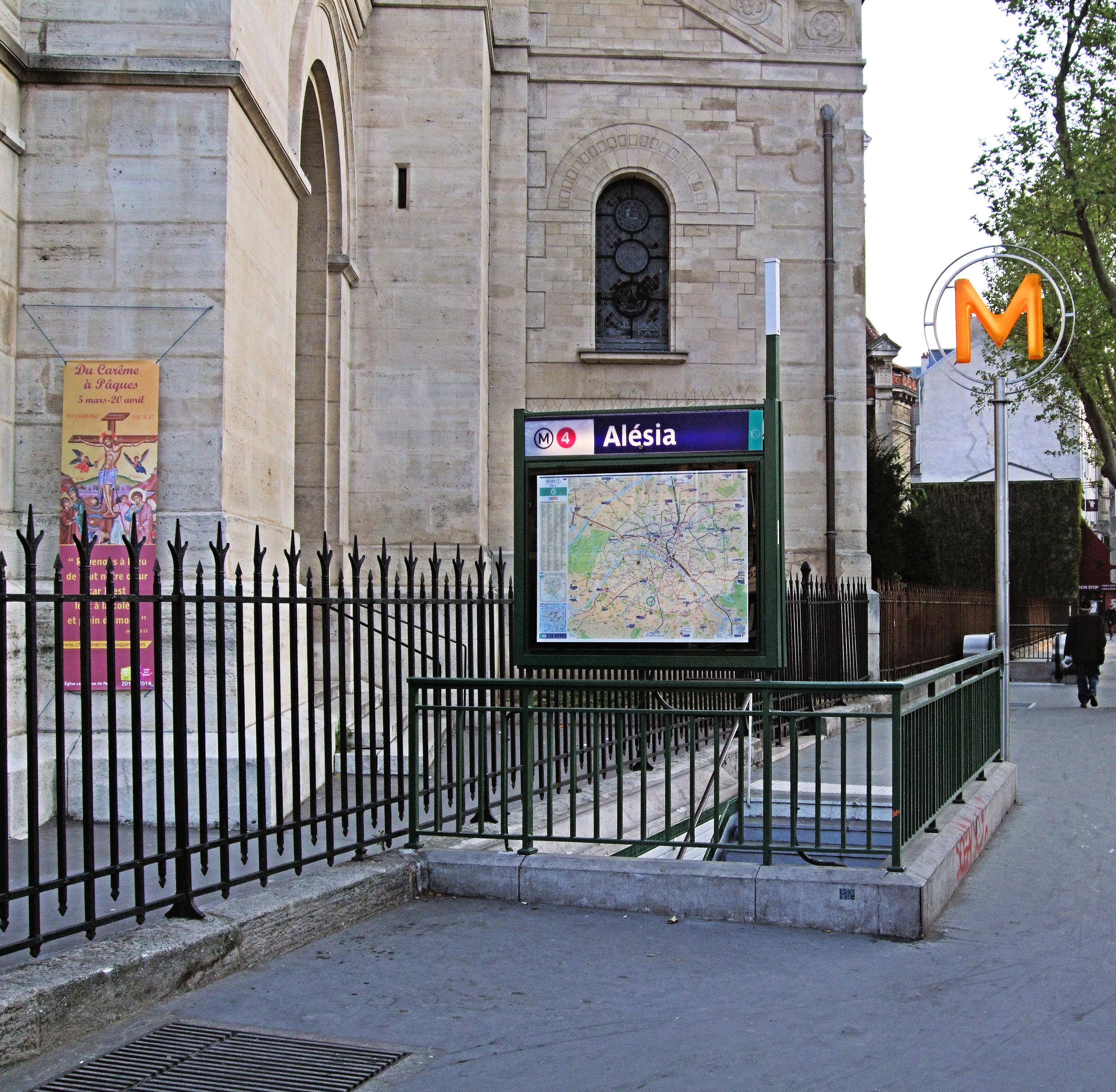 Raspail metro for Hotel pas cher paris 14e