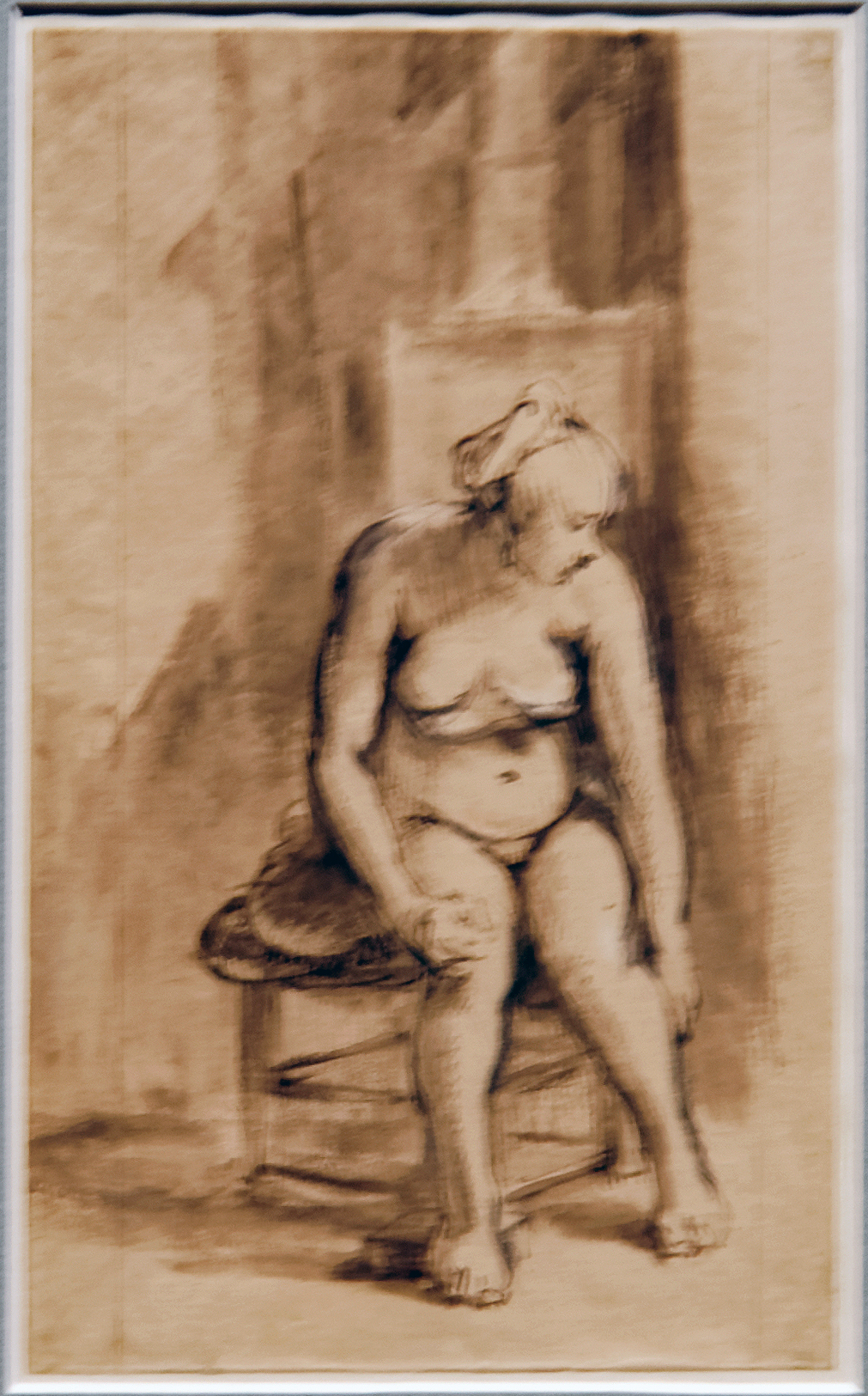 Nude photo exposition