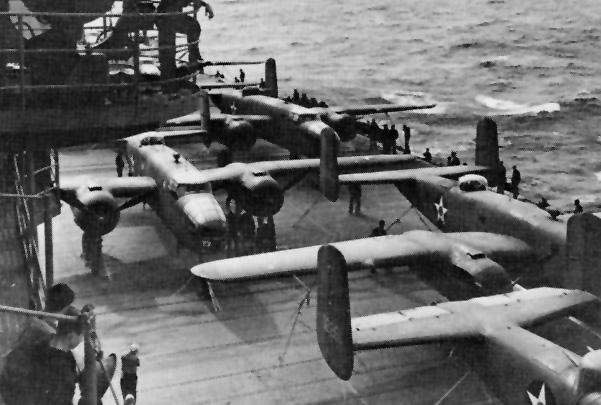 File:April 18 1942 USS Hornet CV8 Doolittle.jpg