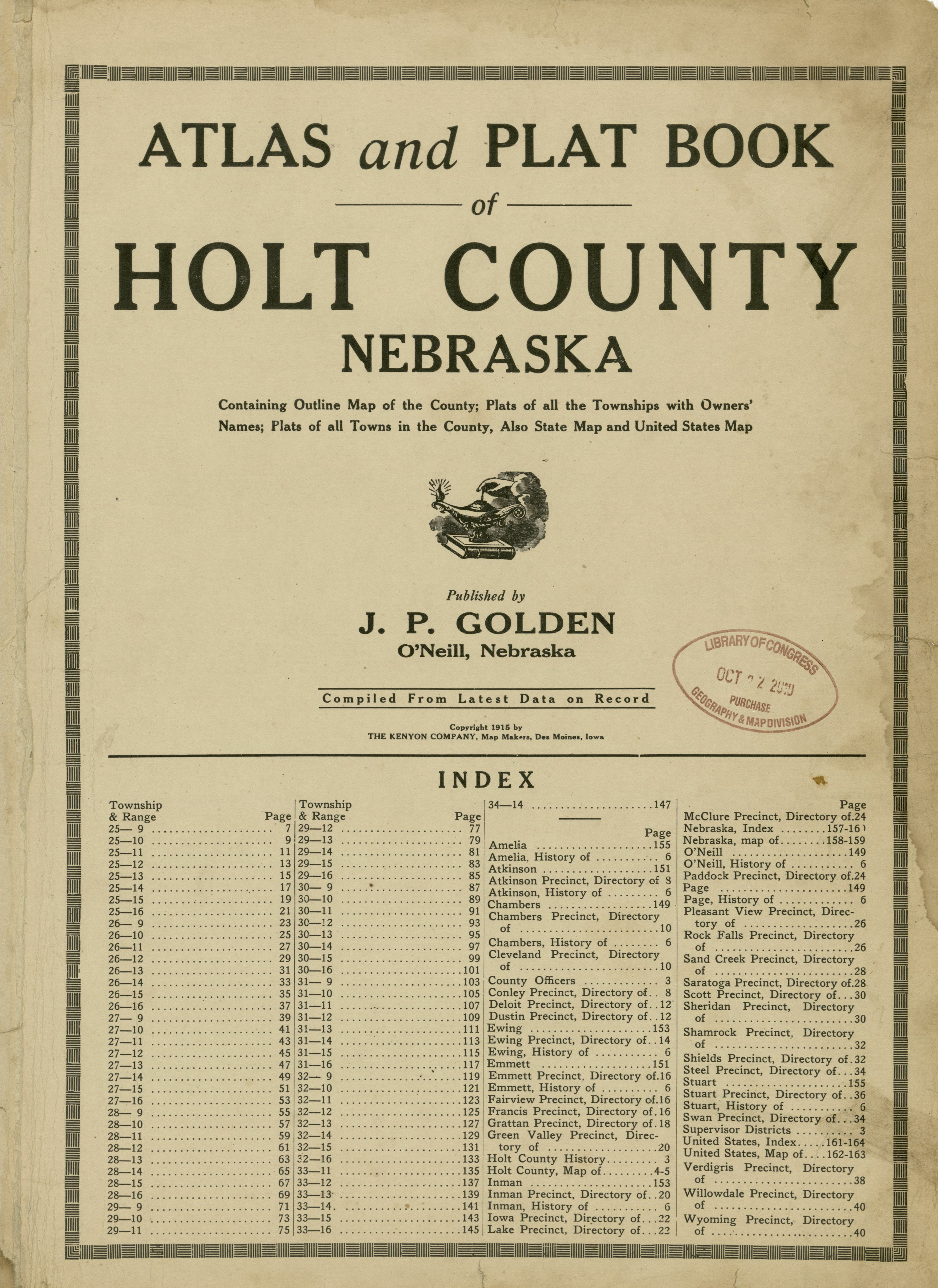 File:Atlas and plat book of Holt County, Nebraska ...