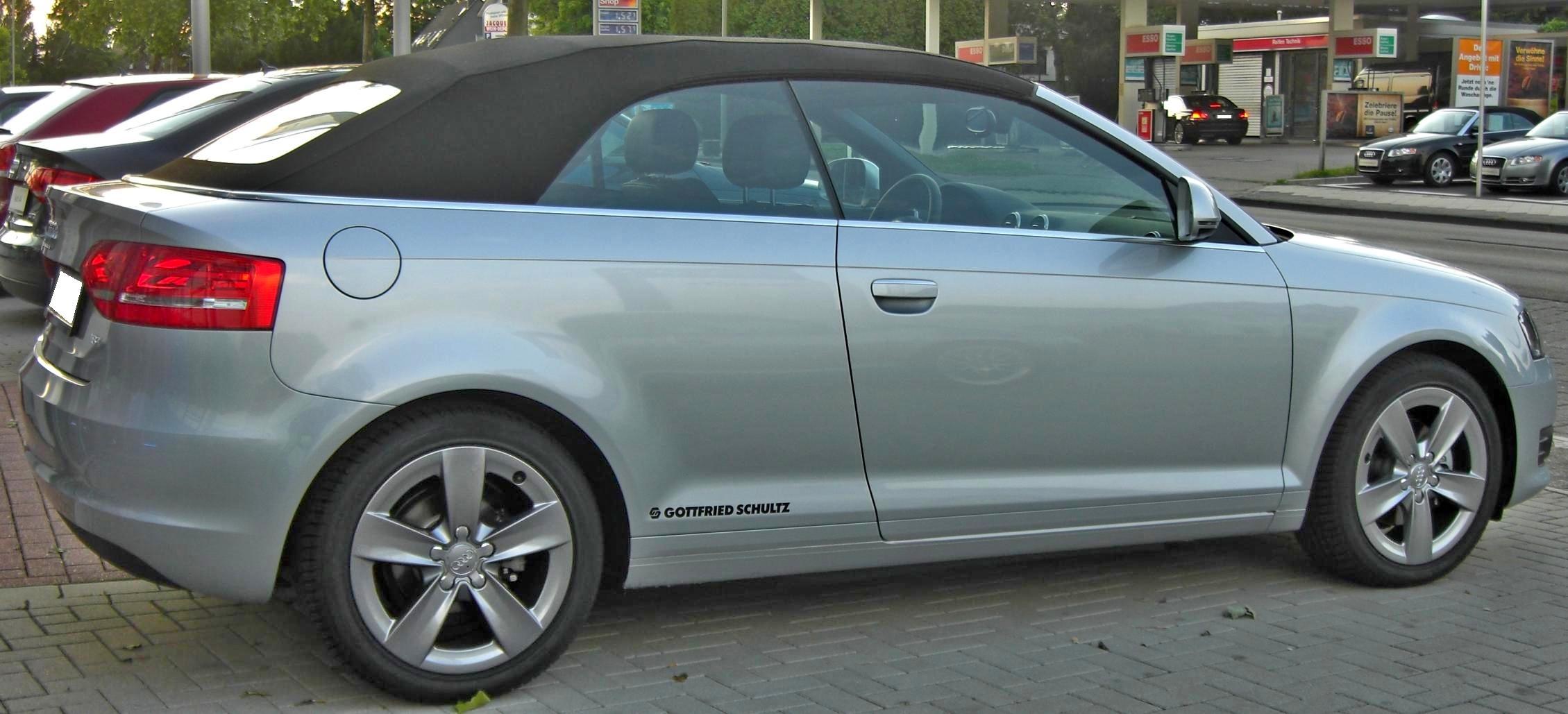 2020 - [Volkswagen] T-Roc cabriolet  Audi_A3_Cabriolet_%282008%29_rear