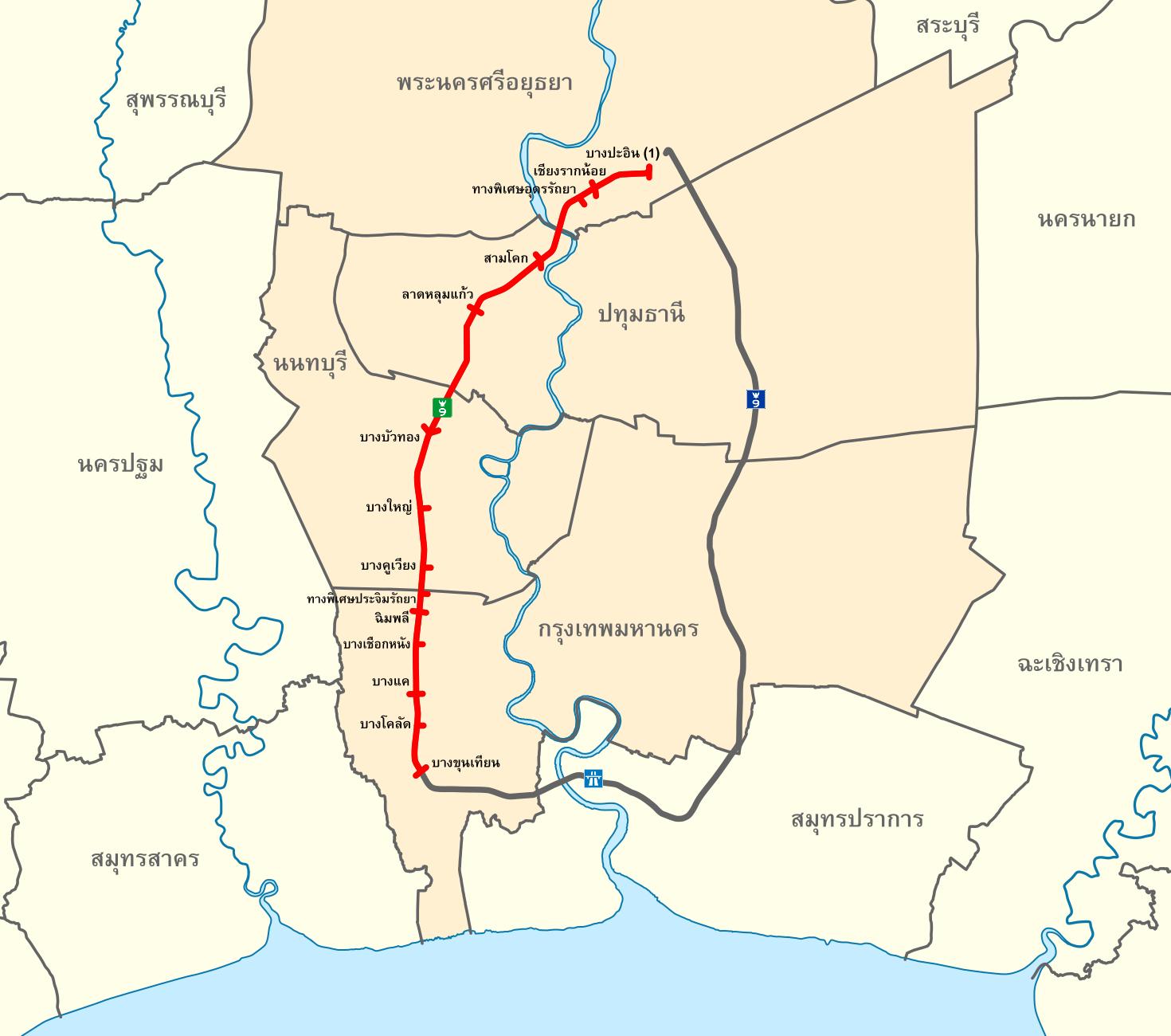 Western Ring Road Broadmeadows Eastbound