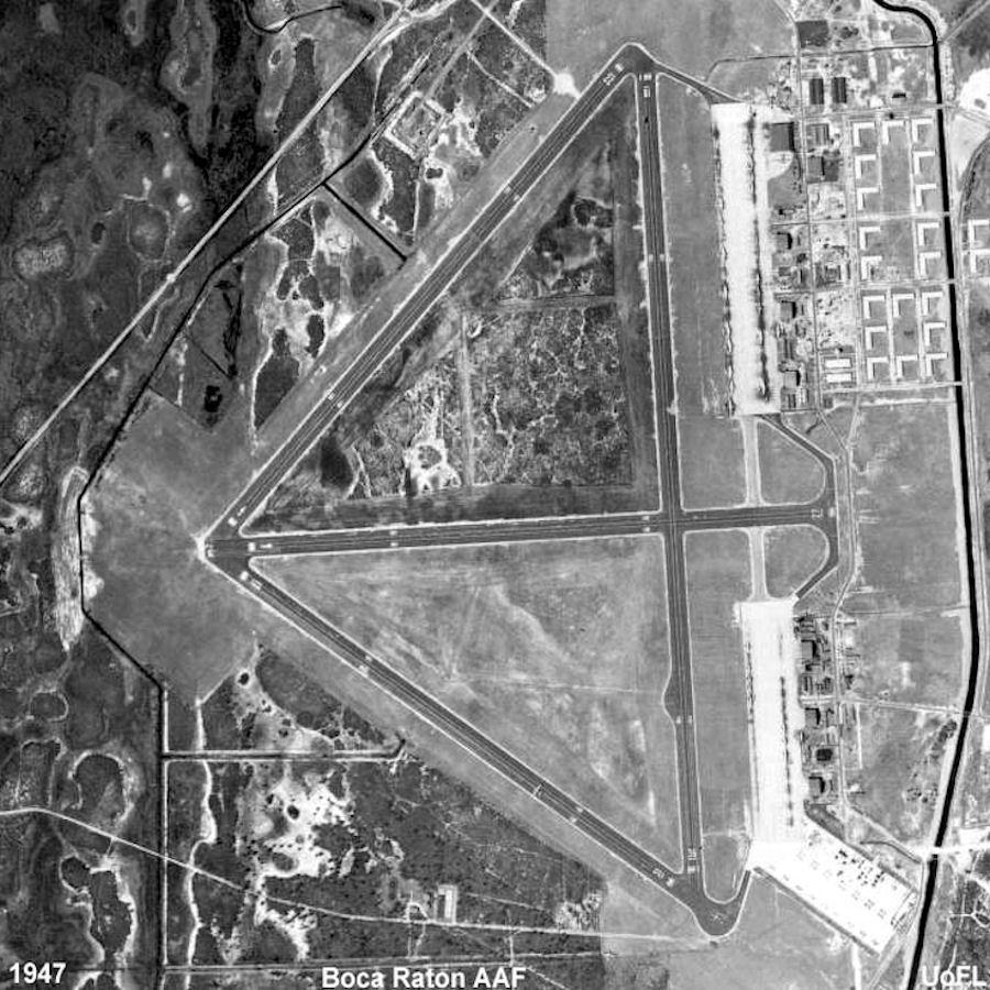 Campus Map Fau.Boca Raton Army Air Field Wikipedia