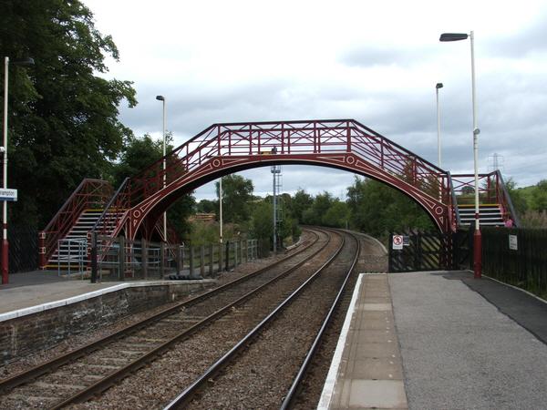Brampton (Cumbria) railway station in 2006