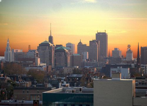 Buffalo Skyline By Stephen Zimmermann.THWoodman at en.wikipedia [Public domain], from Wikimedia Commons