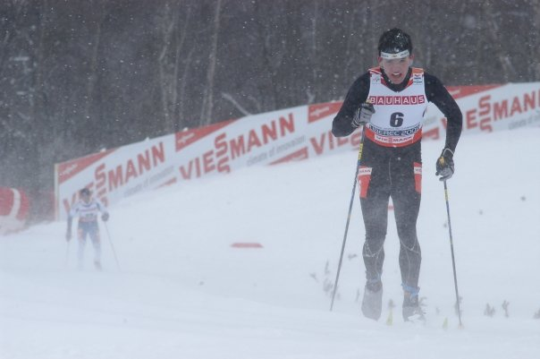 Cesar Baena competes Cross-country skiing (classic style) in Liberec, Czech Republic during World Ski Championships 2009.