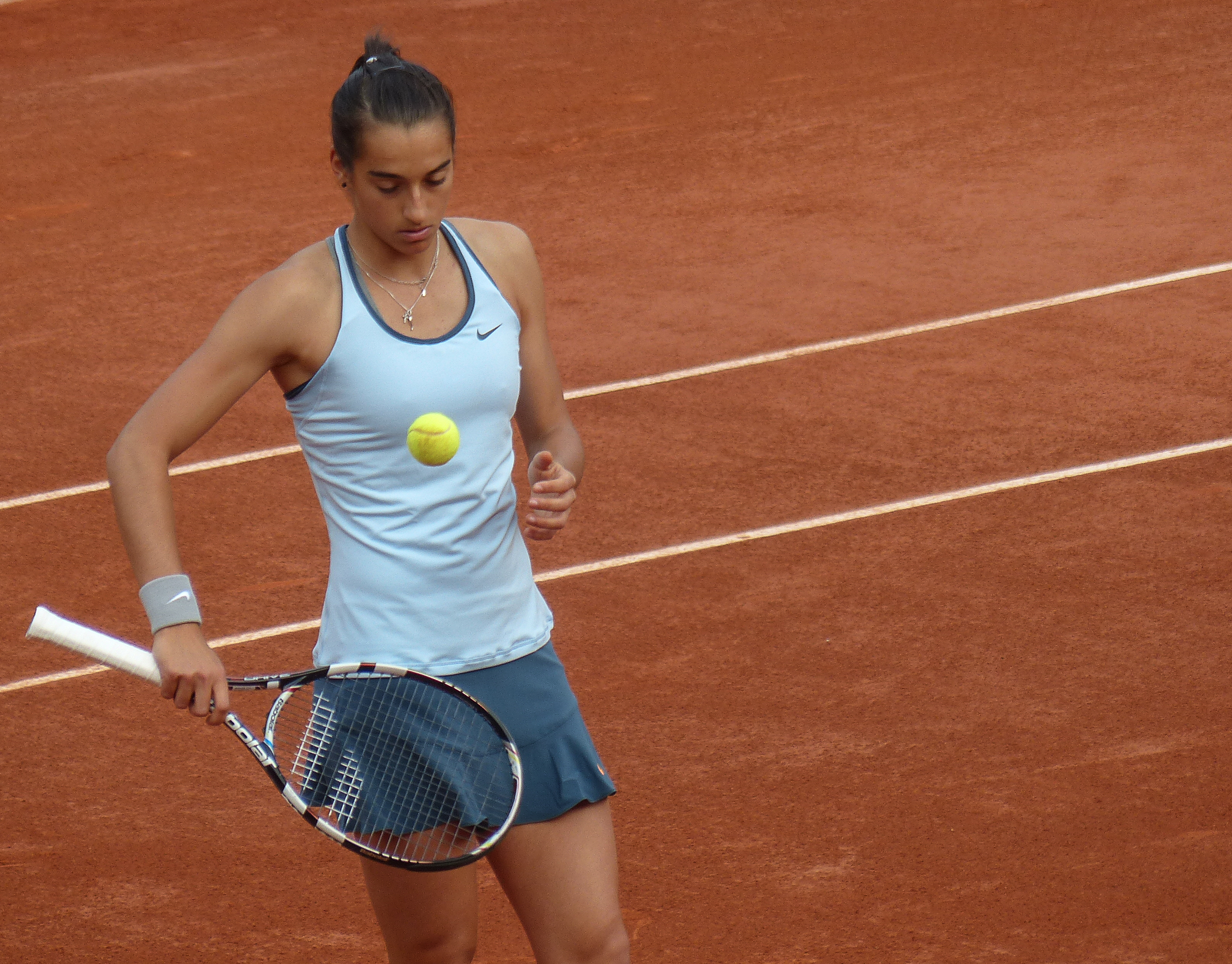 file caroline garcia roland garros 2013. Black Bedroom Furniture Sets. Home Design Ideas