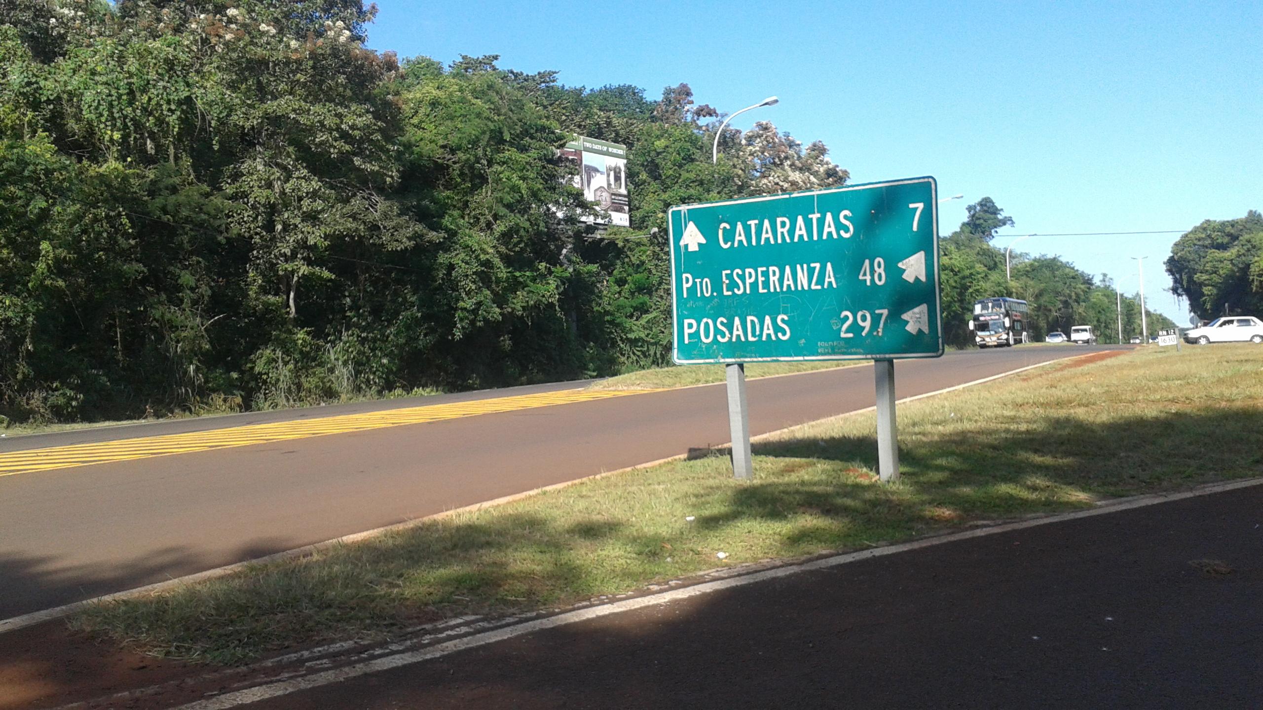 Resultado de imagen para cartel de ruta argentina