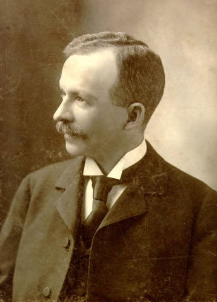 Charles W. Chesnutt at the age of 40