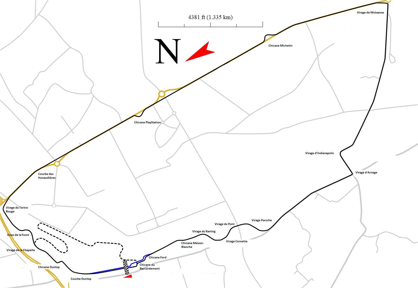 Depiction of 24 Horas de Le Mans 2011