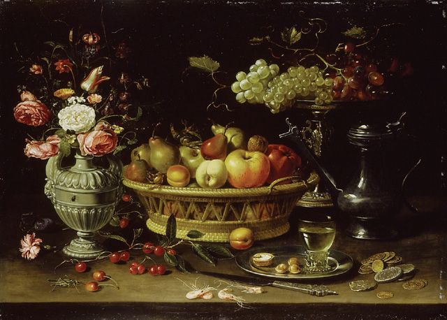 still life of fruit and flowers wikidata