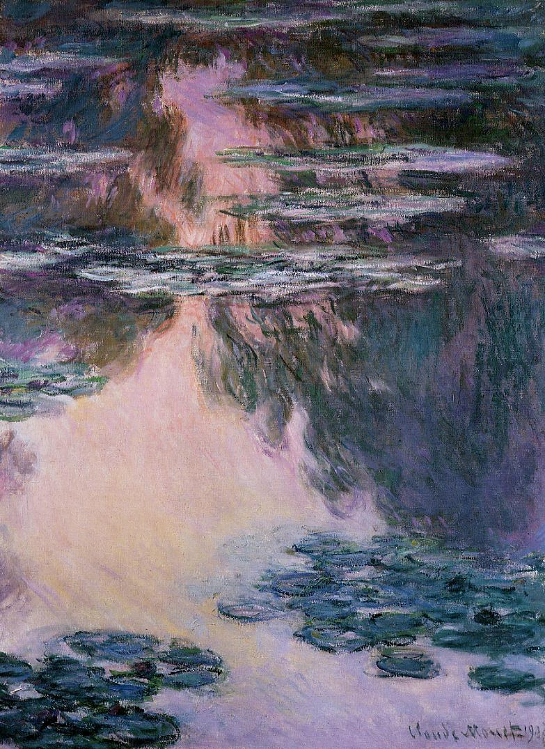 claude monet water lilies An iconic masterpiece by french impressionist painter claude monet will be on  special display at the san diego museum of art beginning june.