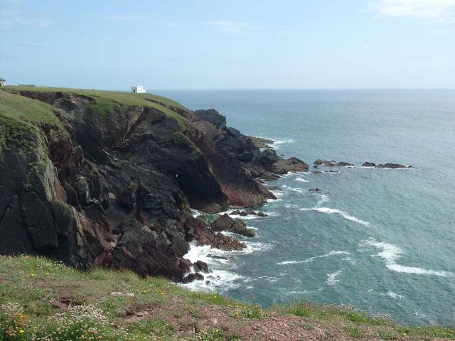 Cliffs at St Ann's Head - geograph.org.uk - 415568