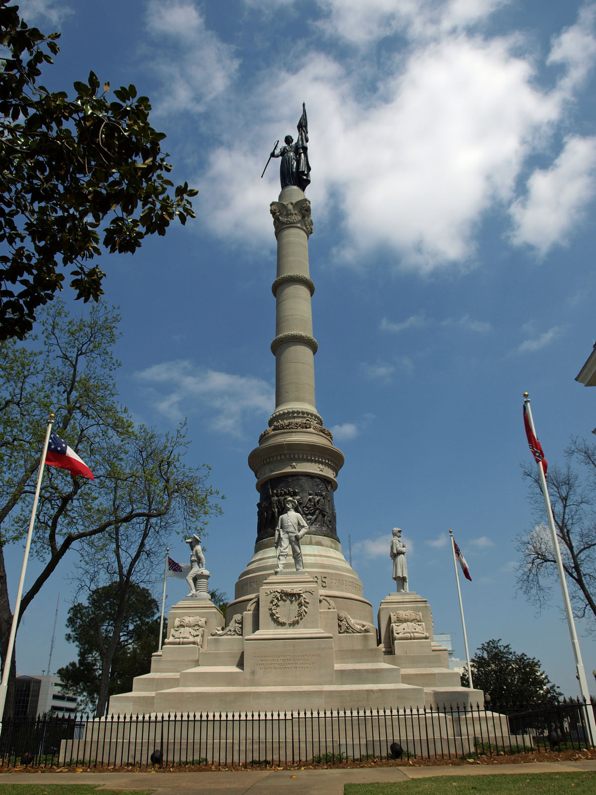 Map World Mouments%0A Confederate Memorial Monument in Montgomery  Alabama by sculptor Alexander  Doyle