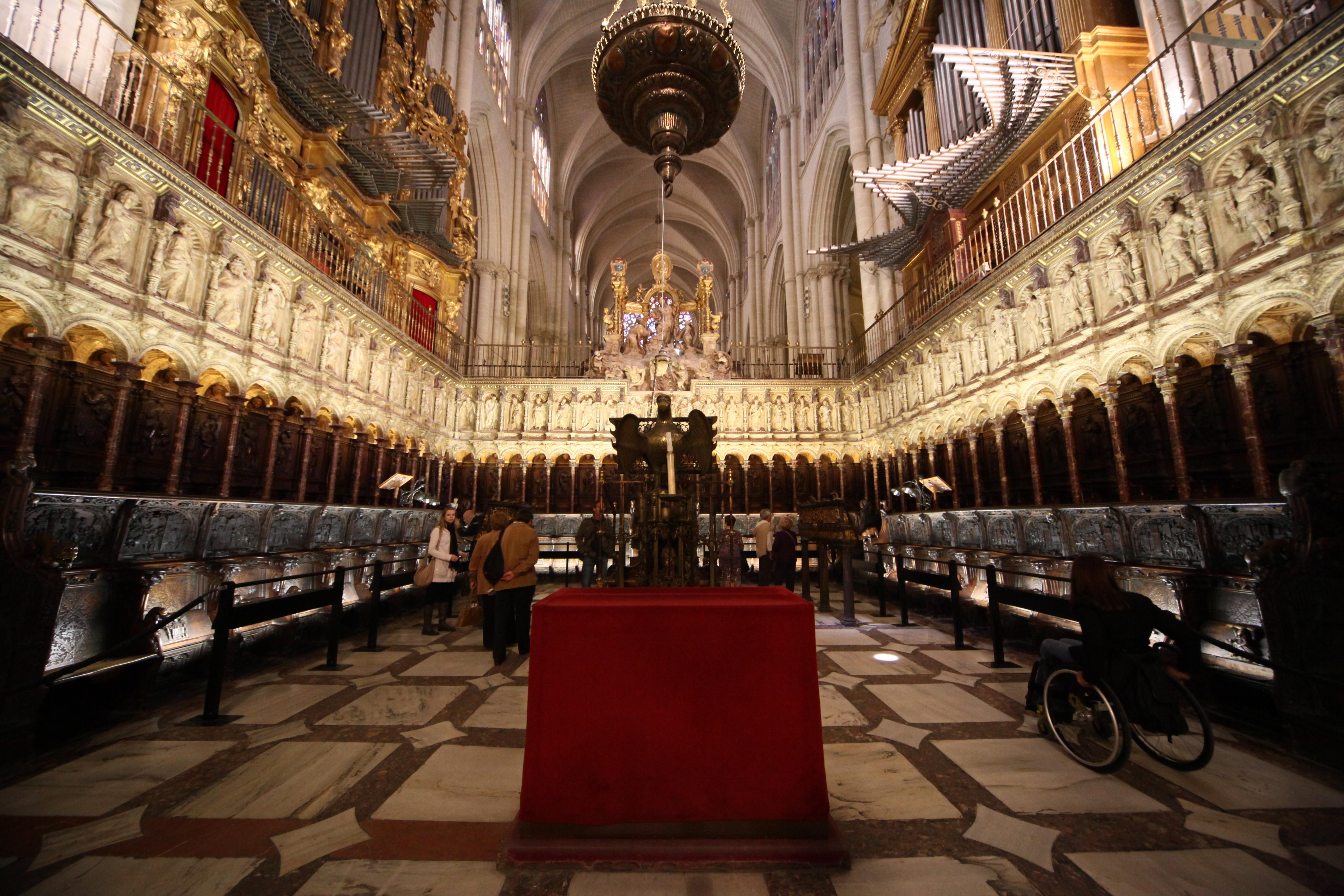 Coro De La Catedral De Toledo Wikipedia La Enciclopedia Libre