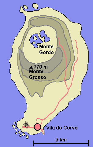 mapa da ilha do corvo Corvo (Açores) – Wikipédia, a enciclopédia livre mapa da ilha do corvo