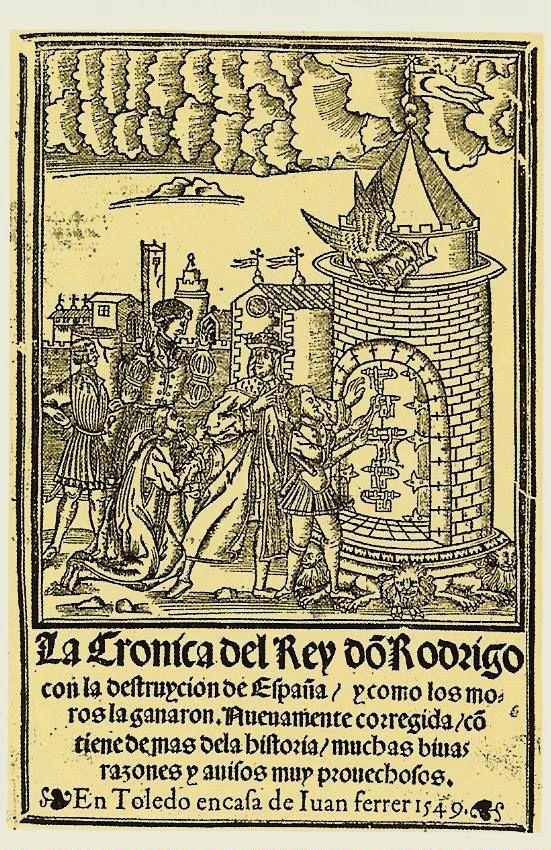 Don Rodrigo abriendo los candados