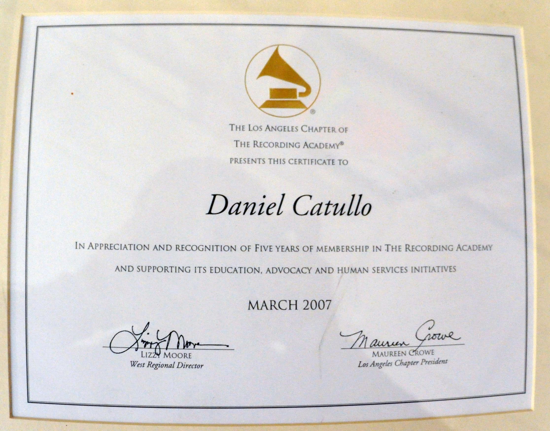 Filedaniel catullo recording artist of american certificateg filedaniel catullo recording artist of american certificateg xflitez Image collections