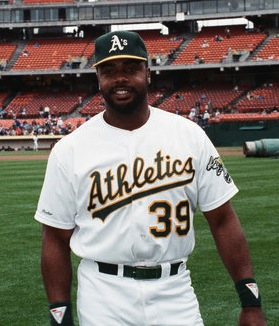 Parker during his time with the [[Oakland Athletics]]