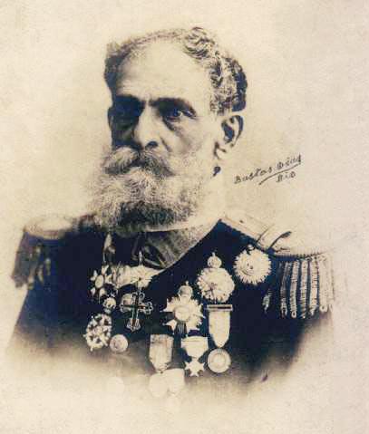 Deodoro da Fonseca fotografado por Bastos Dias