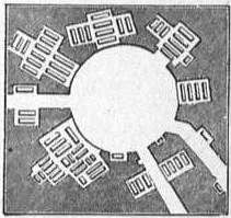 EB1911 Catacomb - Fig. 20.—Plan of Circular Hall, Catacombs of St John, Syracuse.jpg