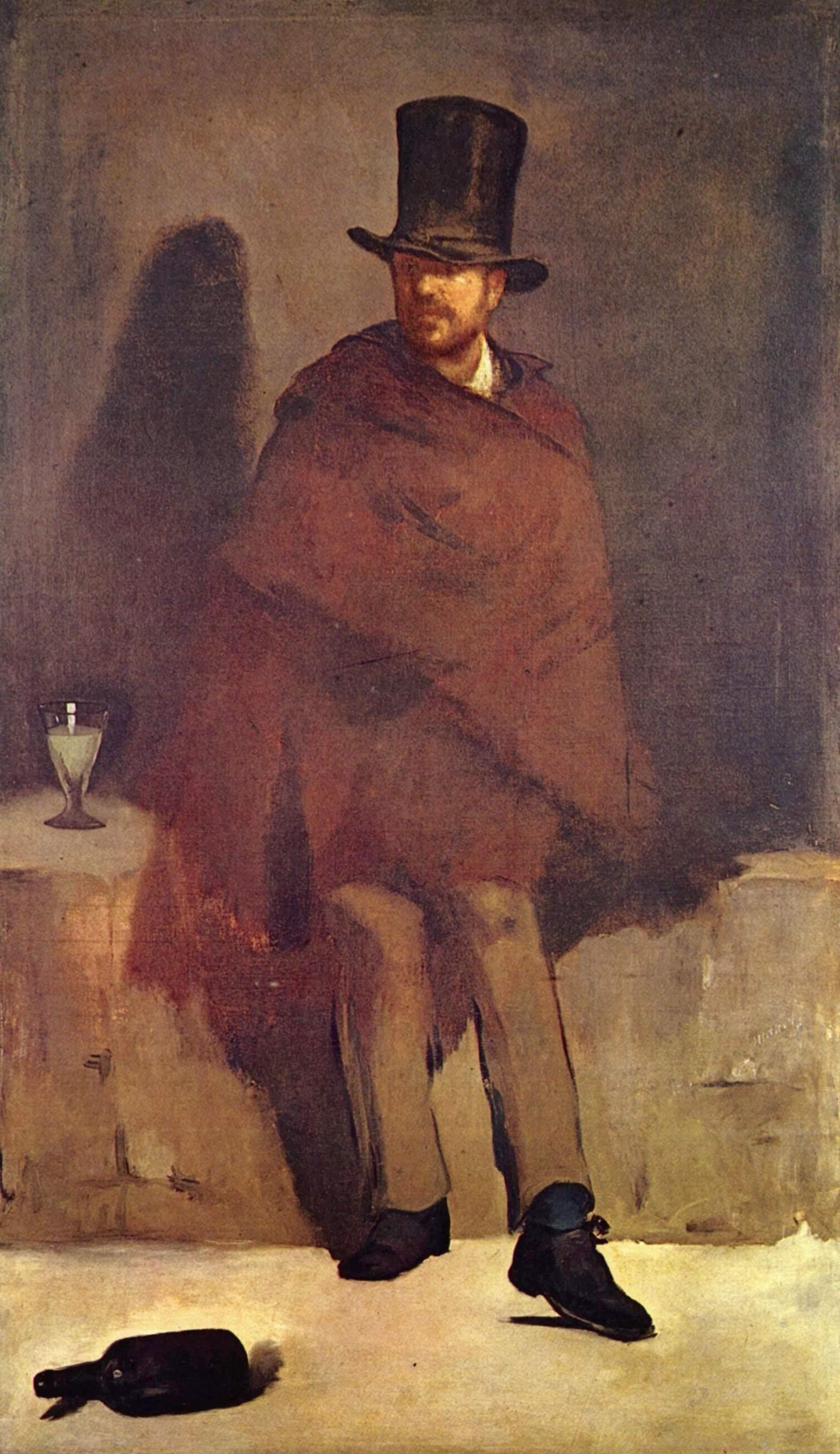 Edouard Manet, The Absinthe Drinker, 1859