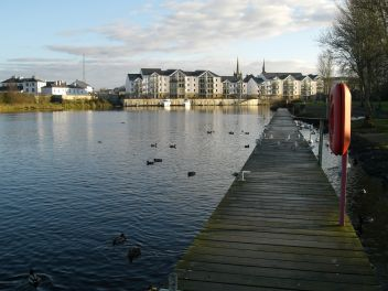 Photo of Enniskillen and river Erne, County Fermanagh, Northern Ireland