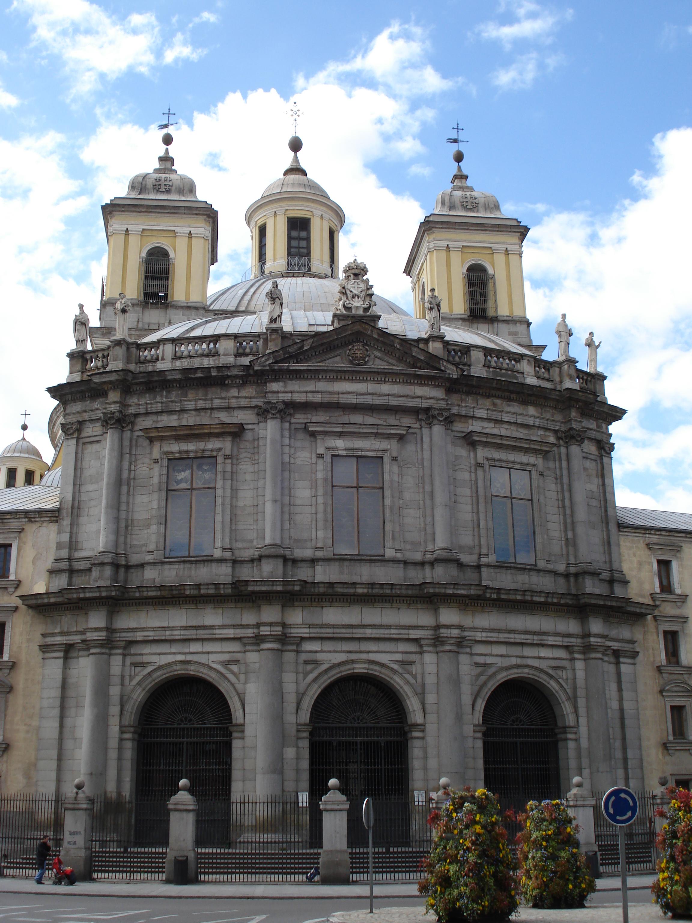 File Fachada Principal Iglesia San Francisco El Grande Madrid Jpg