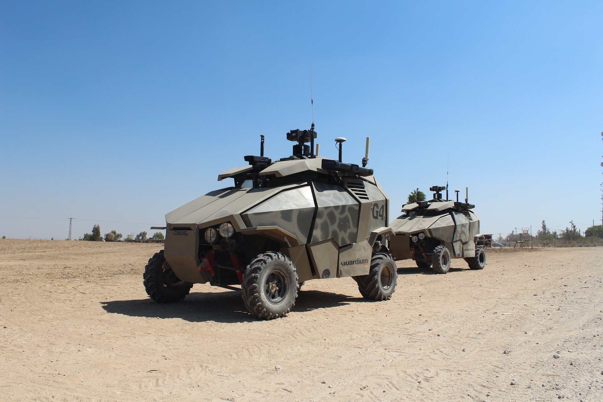 Manly Aww: Israel army guardium, unmanned ground vehicle ...