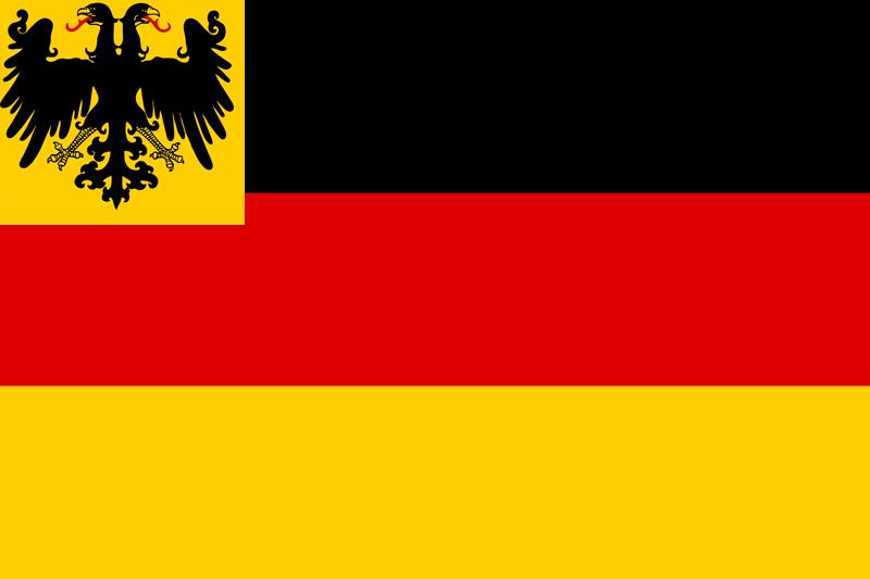 Kriegsflagge zur See, 1848