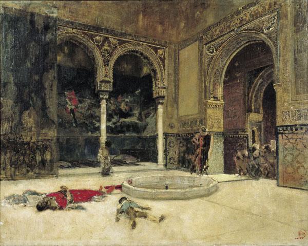 Matanza de los Abencerrajes (1870), por Mariano Fortuny