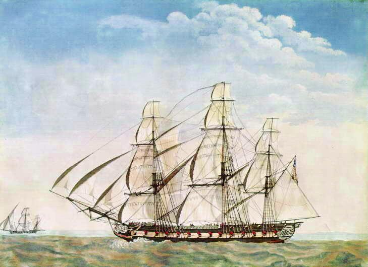 sailing frigate USS Essex (1799)