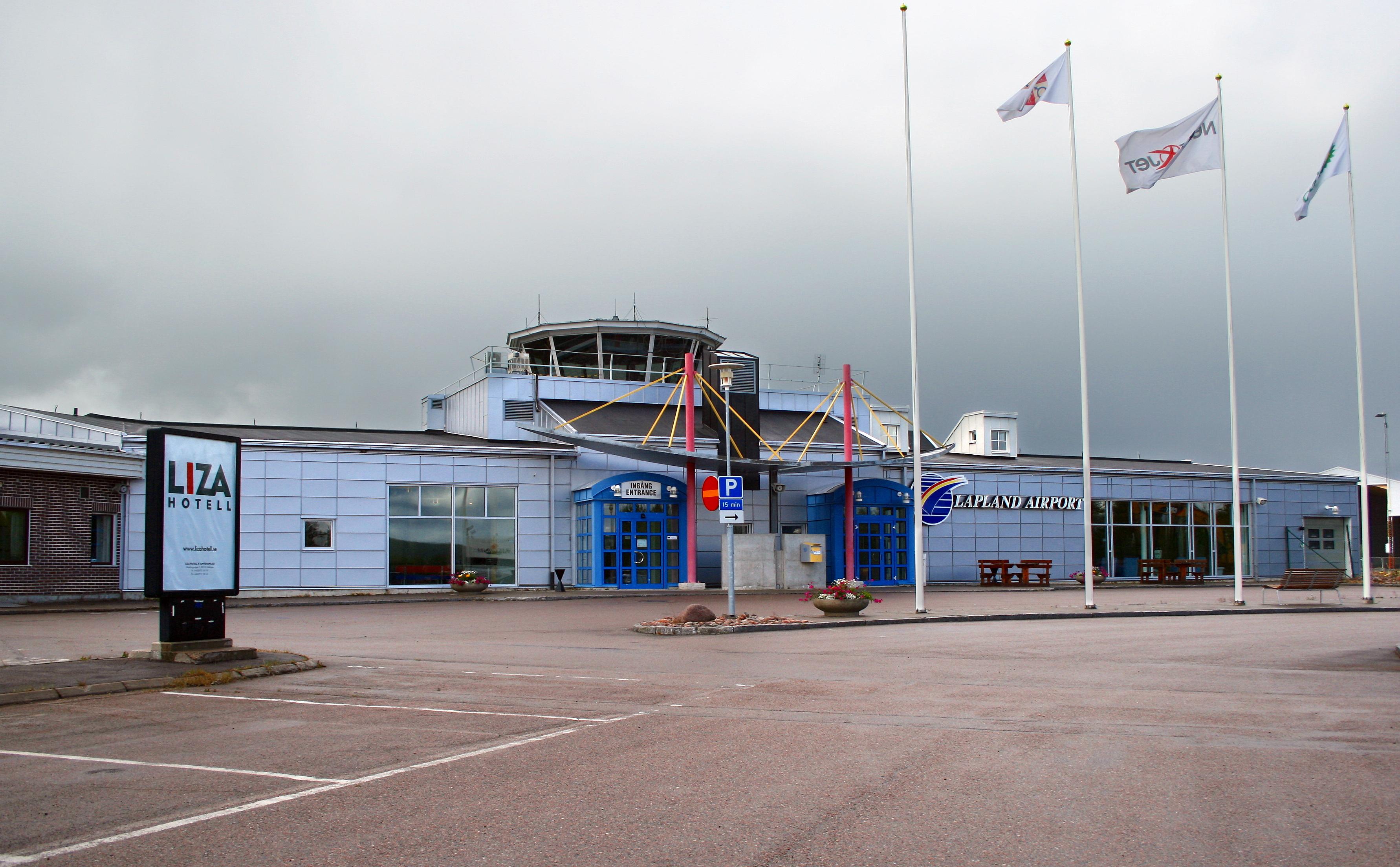 Bildresultat för gällivare flygplats