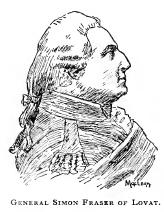 General Simon Fraser of Lovat