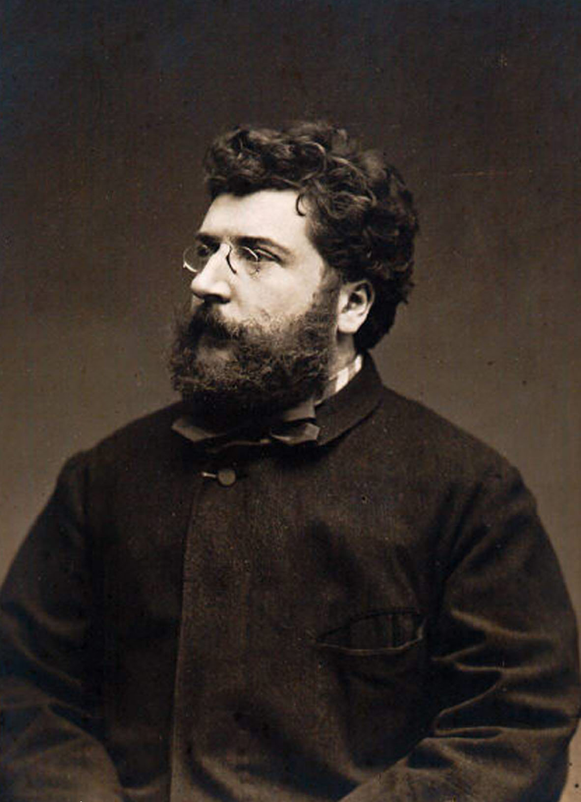 Georges Bizet, photograph by Étienne Carjat, 1875