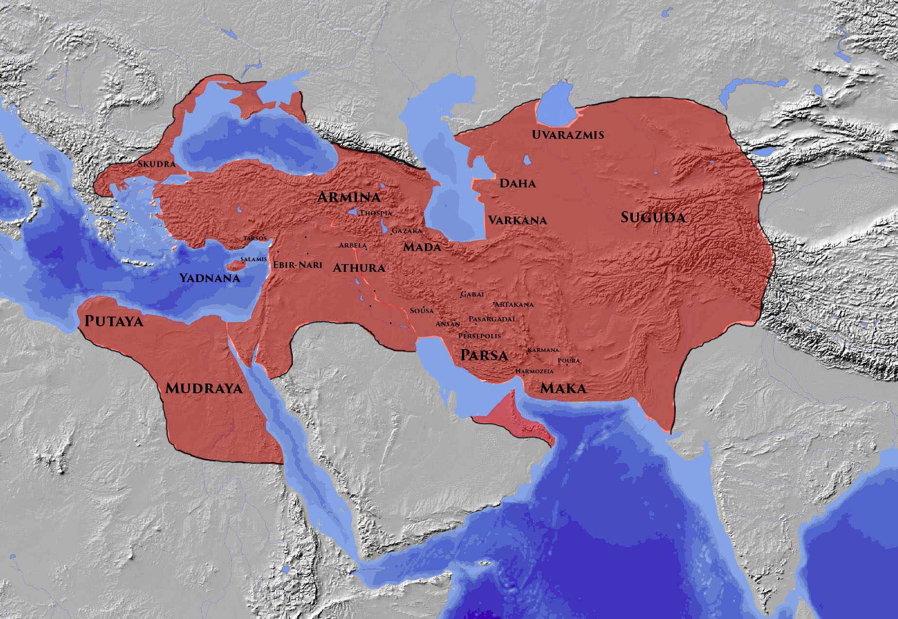 achaemenid empire The safavid empire was the first persian empire established after the arab conquest of persia by shah ismail i from their base in ardabil, the safavid persians.