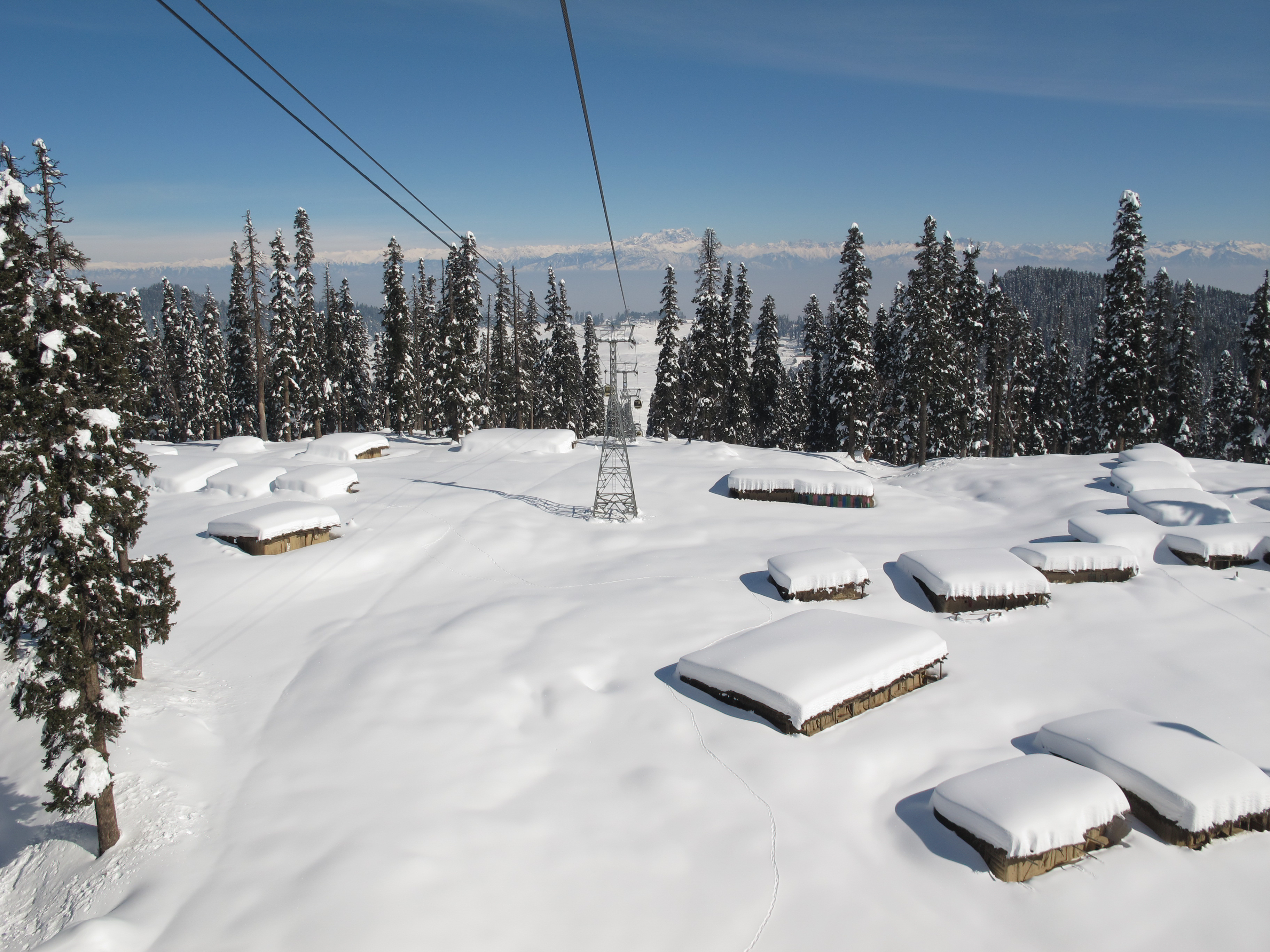 Gulmarg Hill Station, Indian Ski Resorts and Snowboarding Resorts
