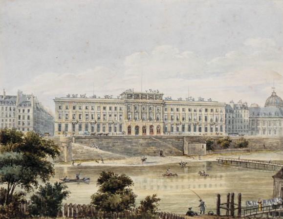 Fichier:Hôtel des Monnaies (Paris) 19th century.jpg