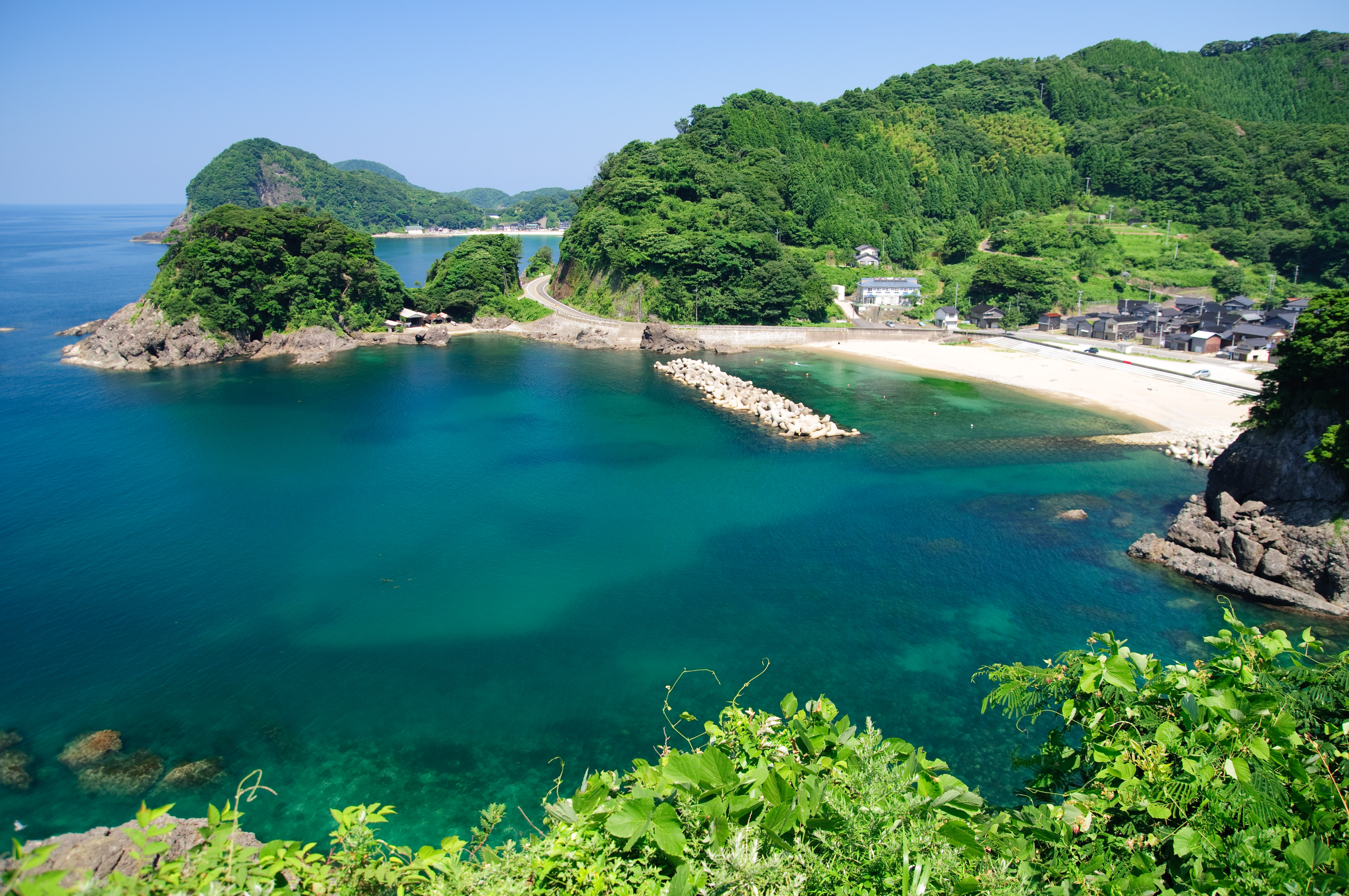 Toyooka Japan  city photo : Hamasui Beach Toyooka Hyogo Wikimedia Commons