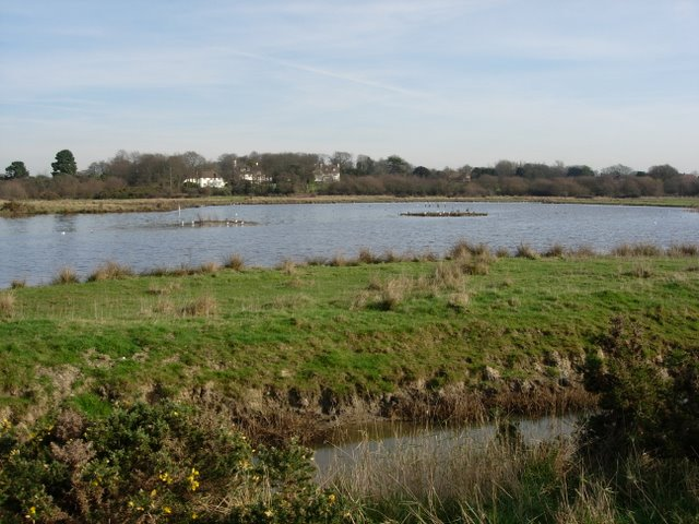Hook Park lake - geograph.org.uk - 328837